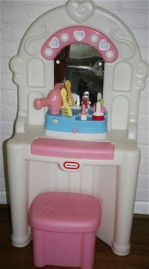 tikes vanity pink child size talking lights up