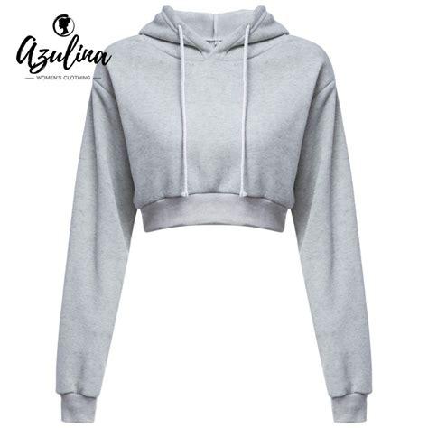 Jaket Crop Hodie Black buy wholesale black cropped hoodie from china black
