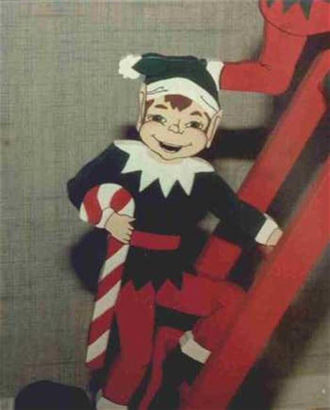 whats the name of zims elf on ladder with lights elves scrollsaw project