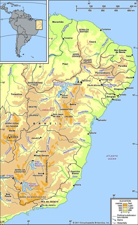 san francisco river map sao francisco river river brazil britannica