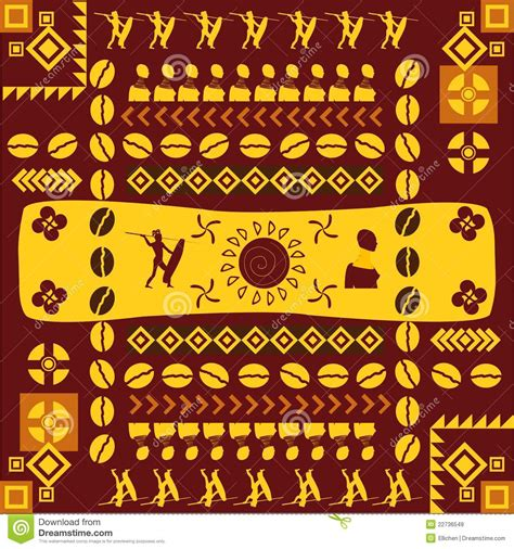 african pattern name african traditional design pattern royalty free stock