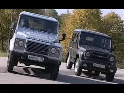 range rover hunter uaz hunter vs land rover defender 90 часть 2 youtube