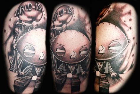 stewie griffin tattoo designs shoulder character griffin stewie by