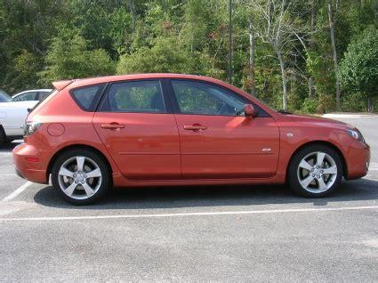 orange mazda 3 hatchback 2003 mazda 3 hatchback news reviews msrp ratings with