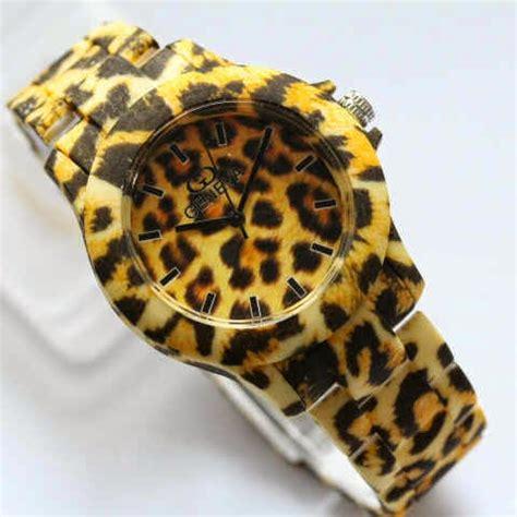 casio g shock kw jam geneva pink leopard dan