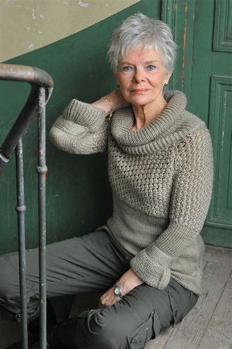 65 best images about hairstyles for gray hair on pinterest 20 short hair cuts for older women short hairstyles