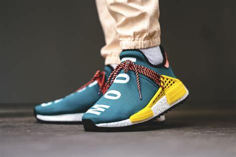 Adidas Nmd Hu X Pharrel William Cloud Mood Sepatu Jaln Pria Premium release reminder pharrell x adidas nmd hu trail