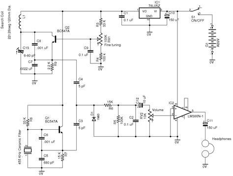 pulse induction metal detector circuit diagram pulse induction metal detector images frompo