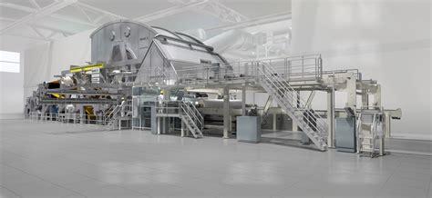 Valmet Paper Machine An Advantage Ntt Tissue Production Line To Sofidel Paper