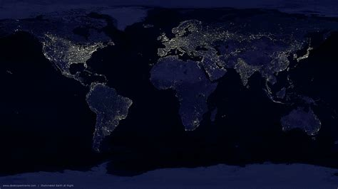 wallpaper earth at night earth at night widescreen wallpaper by desktopextreme com