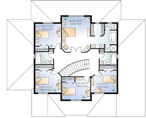 Flowing Living Spaces And A Home Theater 2159dr 1st Floor Plans For Home Theater