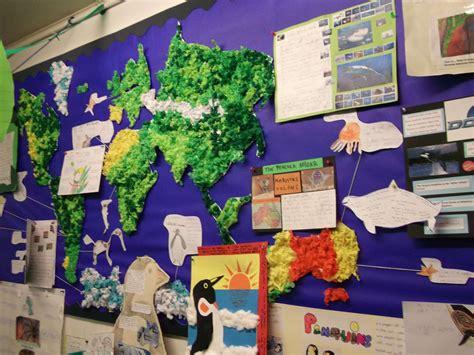geography themes ks2 year 3 world geography study habitats world map