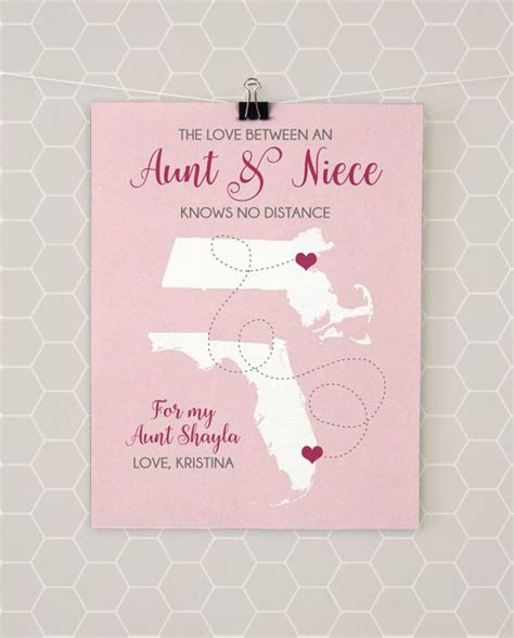 niece gifts aunt and moving away on pinterest