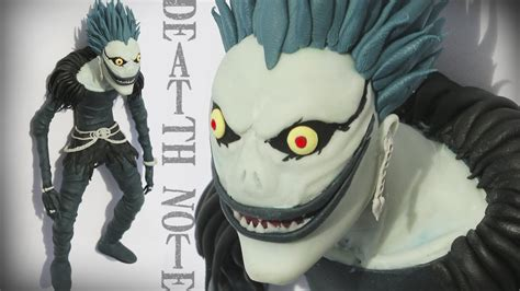 ryuk death note tutorial polymer clay reuploaded youtube