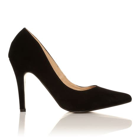 high heels for size 4 new stiletto court shoes pointed high heels