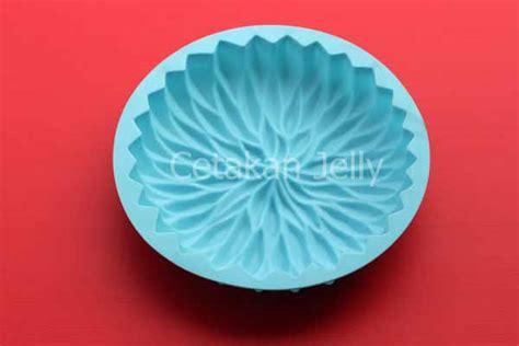 Cetakan Kue Puding Big Aster Berkualitas cetakan silikon kue puding big aster cetakan jelly
