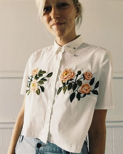 Emilia Embro 17 best ideas about shirt embroidery on
