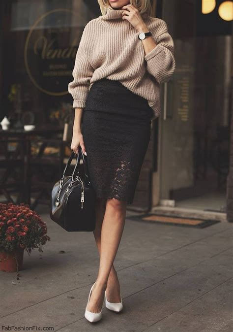 style guide how to wear pencil skirt this fab