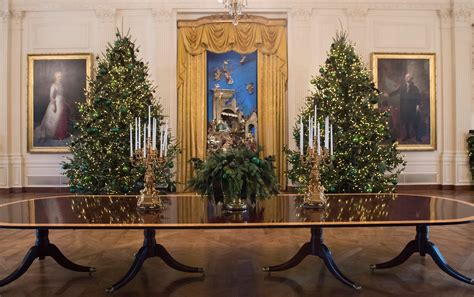 white house christmas tree ornaments melania trump unveils white house christmas decorations time