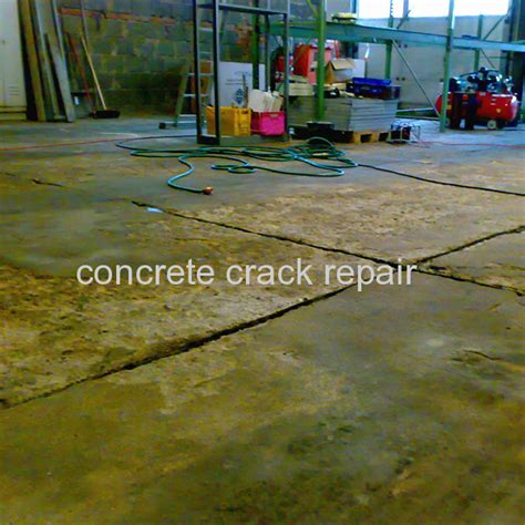 How To Repair Garage Floor Concrete by Concrete Repair Material Repairs For Garage Floor Cracks