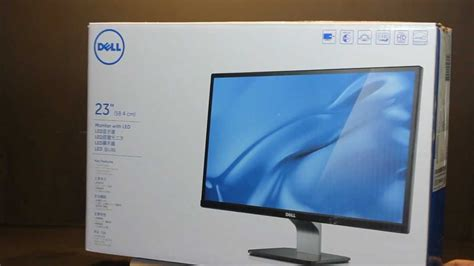 Monitor Led Dell S2340l monitor dell s2340l led ips hd 1080p