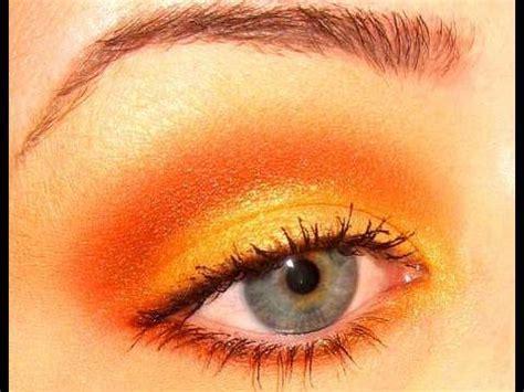 Eyeshadow Orange color series how to wear orange eyeshadow