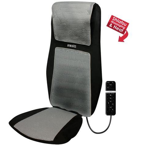 Homedics Chair Massager by Homedics Sbm600h Shiatsu Shoulder Back Massager