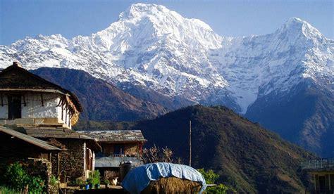 local house south ghandruk trek ghandruk trek easy treks of nepal