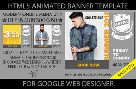 Html5 Animated Banner Html5 Banner Template