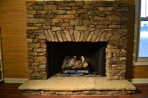 Fieldstone Fireplace Living Masonry Living Masonry Asheville Nc