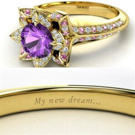 tangled themed ring my future wedding ideas