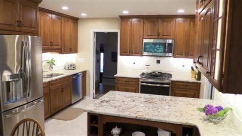 cherry cabinets kitchen remodel alexandria va