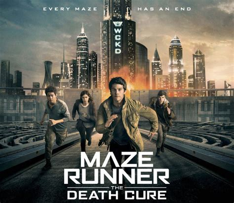 jadwal tayang film maze runner 3 third maze runner movie tops the weekend box office