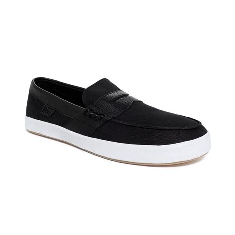 black polo loafers polo ralph polo evan ii loafers in black for