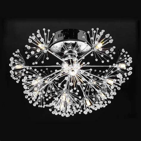Light A Flower T3009 1 led l luxury modern led ceiling light fixtures living room dandelion flower design