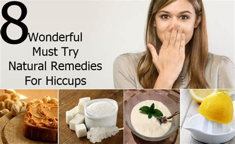 8 wonderful must try remedies for hiccups diy