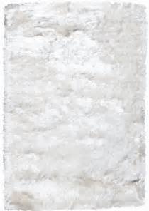 noble house crystal solid white rug