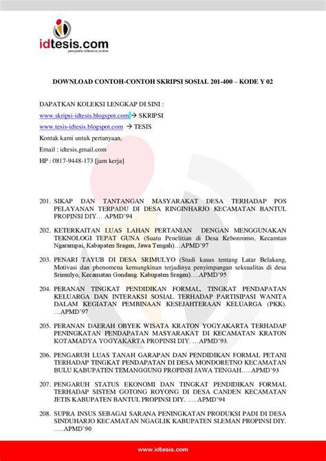 mitrarisetcom contoh skripsi tesis 4 contoh skripsi sosial 201 400 y 02 by sanjaya jogja issuu