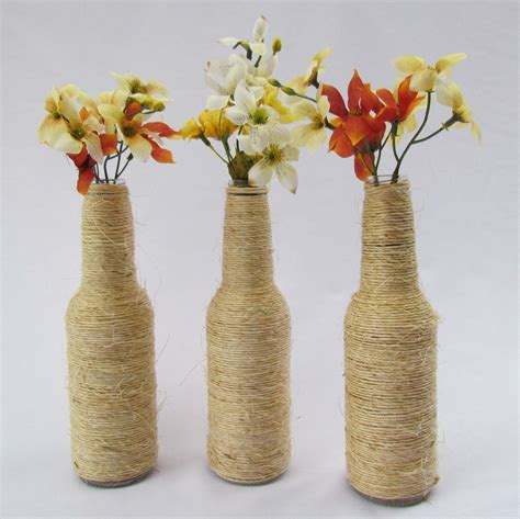 garrafas decoradas sisal garrafas decoradas veja mais de 90 modelos e passo a passo