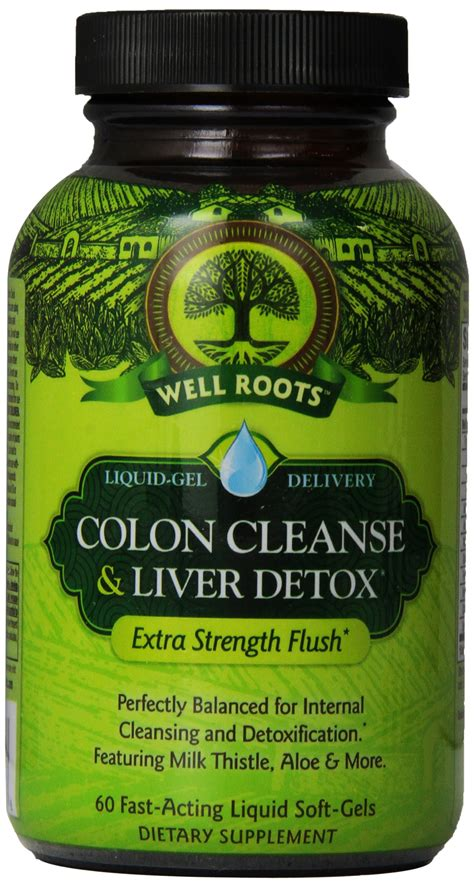 The Well Detox by Well Roots Mood Up Stress Supplement 60
