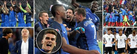 total sports madness sports video highlights france 2 0 germany griezmann scores in both halfs to seal