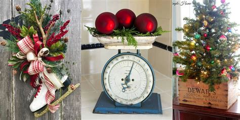 home decor blogs christmas 25 ways to decorate your home with vintage christmas finds