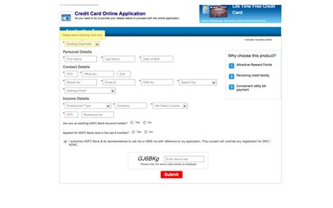 Credit Card Application Form Of Hdfc How To Track Your Hdfc Credit Card Application Status