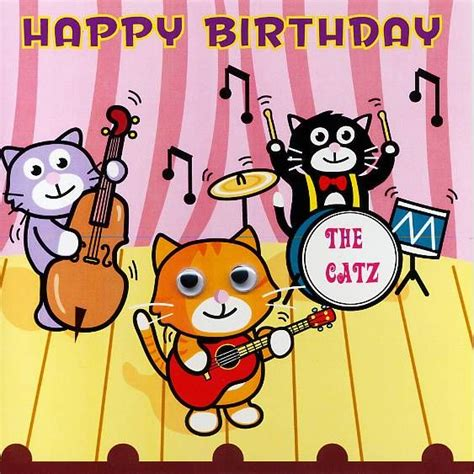 how to make a singing birthday card free happy birthday cat greetings free happy