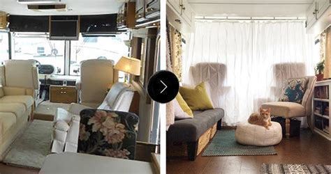 Cozy Home Interiors by Before Amp After An Rv To Call Home Design Sponge