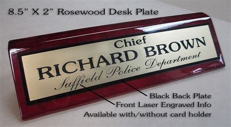 unique desk name plates custom desk name plates police ayresmarcus