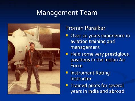 Mba In Aviation Management Abroad by Indus Aviation Corporate Presentation