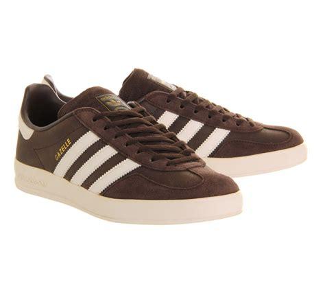 lyst adidas originals gazelle indoor in brown for