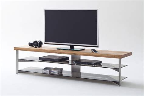 tv gestell tv rack gestell aus metall in geb 252 rsteter edelstahloptik