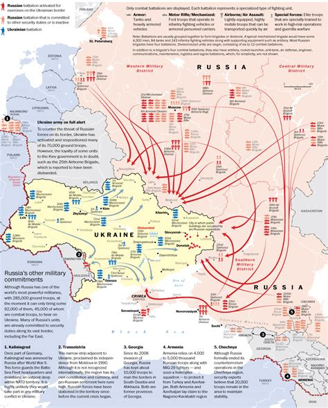 russia ukraine conflict maps on the edge of war the russian and ukraine troop